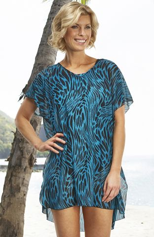 Sumatra,Kaftan,Sumarta print K715, S722 coverup cover up
