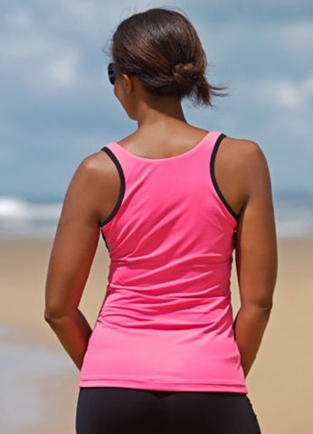 Pink Mastectomy Sports Vest - product images  of