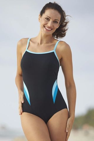 Capri,Mastectomy,Swimsuit,Capri Swimsuit Capri Mastecomy Swimsuit Capri Pocketed Swimsuit 9286