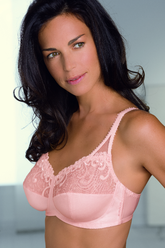 Emilia mastectomy Bra Peach - 42D Only - product images  of
