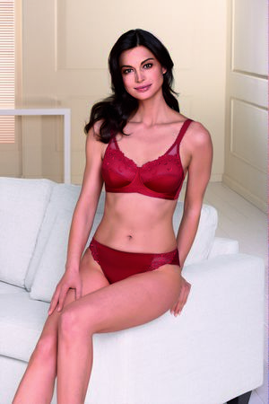 Emilia mastectomy Bra Red - product images  of