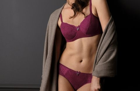 Louise Briefs – Burgundy - product images  of