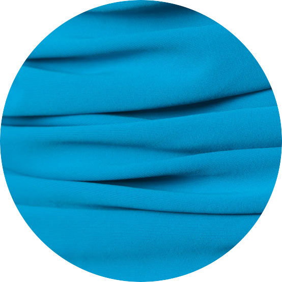 Dive High Neck Mastectomy Swimwuit - Ocean Blue - product images  of
