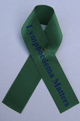 Lymphoedema,Awareness,Ribbon,Lyphoedema Awareness Ribbon