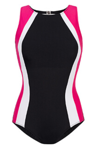 Malibu High-Neck Mastectomy Swimsuit  - product images  of