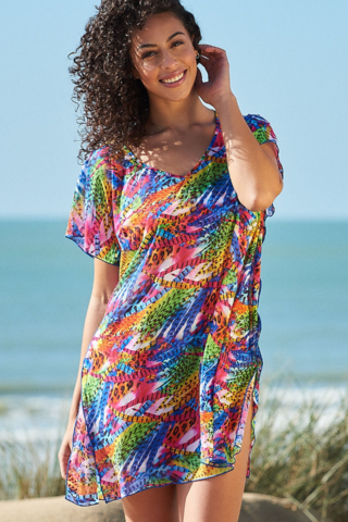Salvador,Kaftan,Salvador print K801 coverup cover up kaftan