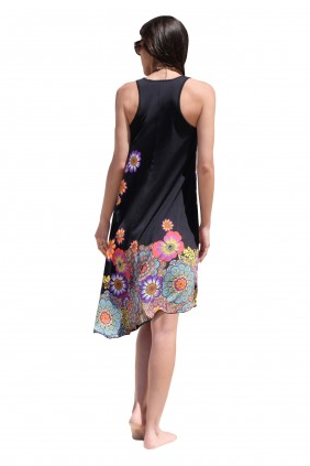Moli bias cut Mastectomy Dress - Size 10 only - product images  of