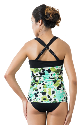 Nadya Amalia  Cross Back Mastectomy Tankini - Size 14 UK only! - product images  of