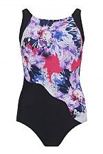 Bahamas High Neck Mastectomy Swimsuit - product images  of