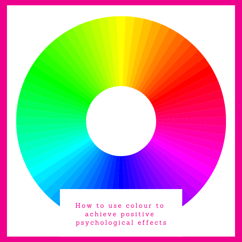 How to use colour to achieve positive psychological effects