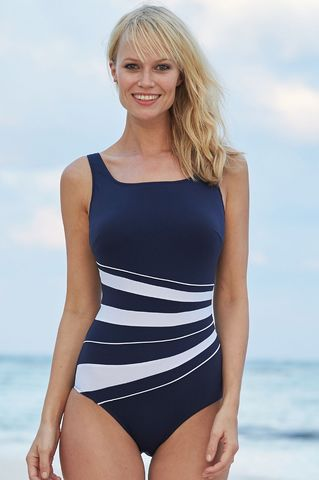 St Tropez Mastectomy Swimsuit - Size 46 (UK 22) - product images  of