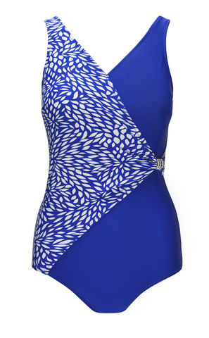 Seychelles V-Neck Mastectomy Swimsuit  - product images  of