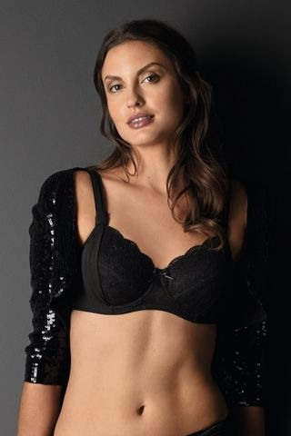 Madeleine,Underwired,Mastectomy,Bra,Black Mastectomy Bra, Mastecomy bra, Mastectomy Lingeirie, Mastectomy bras, Mastectomy Bra and Brief, Amoena Bra. amoena Lingerie, Madeline, 1310, 1307