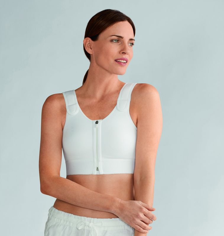 Patricia White Light Compression Vest  - product images  of