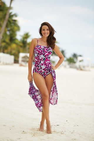 Riviera Mastectomy Swimsuit - Longer Lenght Size 8 only! - product images  of