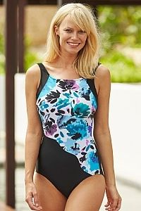 Santorini Mastectomy Swimsuit - Standard Length - Size 12/36 (UK) - product images  of