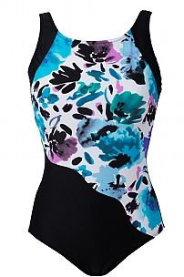 Santorini Mastectomy Swimsuit - Long Length - product images  of