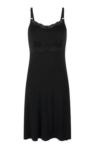 Black Glam Mastectomy Night Dress - product images  of