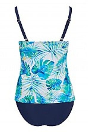 Palm Beach V-Neck Mastectomy Tankini - product images  of