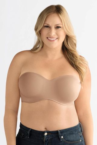 Barara,Nude,Padded,Strapless,or,Multi-way,Mastectomy,Bra,-,Underwired,0457, Amoena bra, Mastectomy Bra, Mastectomy Lingeirie, strapless Mastectomy Lingerie, Nude multi-way mastectomy bra,