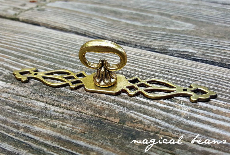 Vintage Gold Backplate Keys by Keeler Brass Co  - product images  of