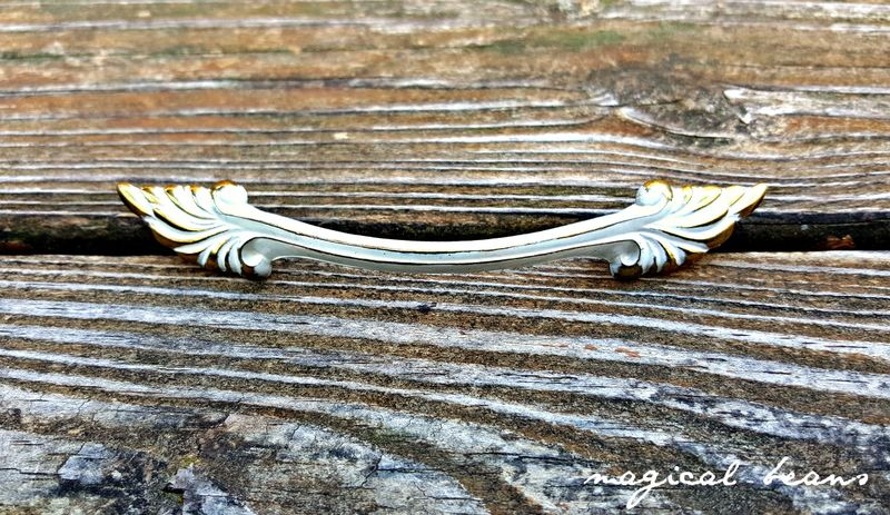 Vintage French Provincial White w/ Gold Accented Drawer Pulls  - product images  of