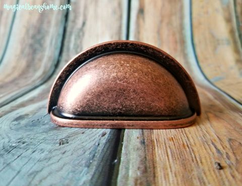Decorative,Weathered,Copper,Bin,Cup,Pulls,Copper Dresser Drawer Pull, Industrial Decor, Farmhouse Decor, Distressed Copper Drawer Pull, Rose Gold Bin Cup Pull, Weathered Copper Apothecary Pull, Rose Gold Dresser Hardware,Kitchen Cabinet Pulls, Copper Dresser Pulls, Bathroom Vanity Cup Pulls