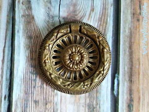 Vintage,Keeler,Brass,Co,Antiqued,Gold,Drop,Bail,Pull,in,Solid,Keeler Brass Co Period Hardware, KBC Drop Bail Pull, Vintage Brass Drawer Pull, KBC Cabinet Pull, Antiqued Gold ,Decorative Drawer Pull, Dresser Drawer Pull Handles