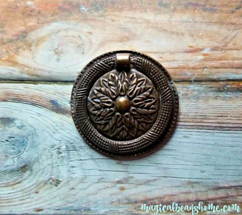 Vintage,Rustic,Pressed,Metal,Round,Hepplewhite,Pulls,vintage drawer pulls, vintage hardware, charcoal drawer pulls, hepplewhite pulls, round drawer pulls, round drop bail pull, round hepplewhite, pressed metal hepplwhite, ornate drawer pulls