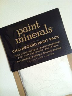Paint,Minerals,Chalk,Board,Sample,Pack,[1,Cup],1 cup recipe, Chalk paint, clay paint, gesso, impasto, gouache, chalkboard paint powder, diy chalkboard, diy chalk paint, paint minerals chalkboard paint, sample pack
