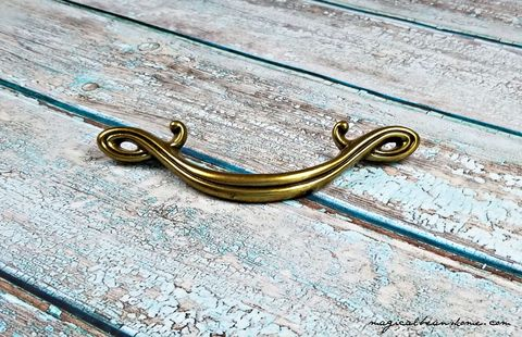 Vintage,Antiqued,Gold,Curly,Que,Drawer,Pull,Handles,in,Brass,Antiqued Brass Drawer Pull, Curly Que Drawer Pull, Decorative Drawer Pull, Vintage Brass Drawer Pull Handles, Antiqued Gold Dresser Hardware, Kitchen Cabinet Pulls, Bathroom Vanity Drawer Pull Handles, Buffet Hutch Pulls, Elegant Drawer Pulls, Restoration