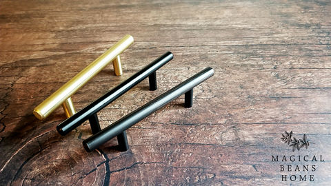 Brushed,Gold,,Silver,,Matte,Black,&,Oil,Rubbed,Bronze,European,T,-,Bar,Pull,Handle,gold drawer pull, euro pull, European drawer pull, t Bar Drawer Pull, Cabinet Pulls, Dresser Hardware, Dresser Drawer Pulls, Gold Drawer Pulls, Modern Drawer Pulls,
