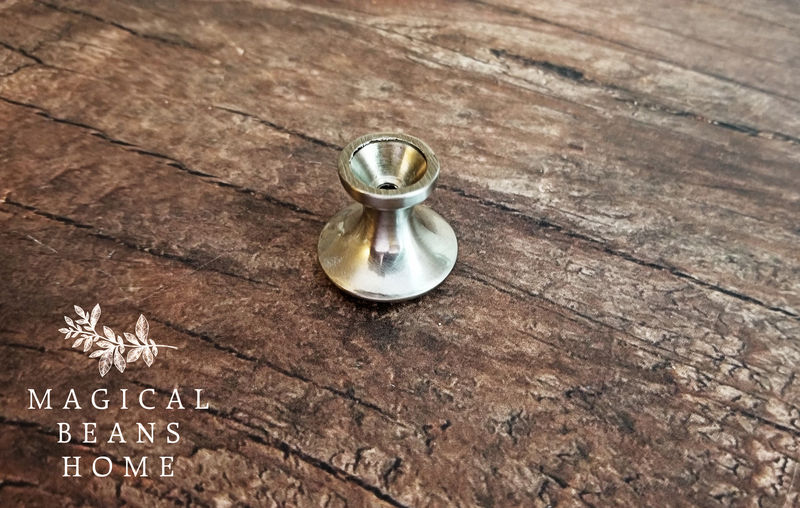 Small Stainless Silver Mushroom Knob by Keeler Brass Co - product images  of