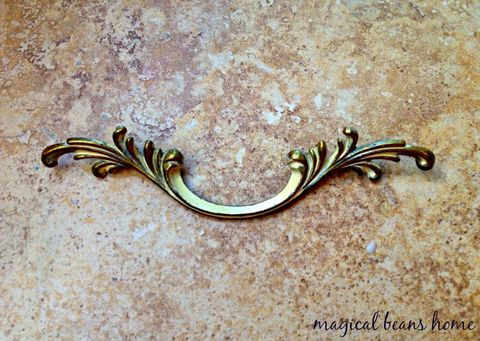 Vintage,Keeler,Brass,Co.,Antiqued,Gold,w/,Ivory,Overlay,French,Provincial,Leafy,Drawer,Pull,Handles,french vintage pulls, french provincial, drawer pulls,period hardware, brass drawer pulls, furniture hardware, scroll motif pull, antiqued brass drawer pull, victorian style, victorian drawer pull, vintage drawer pulls, keeler brass co