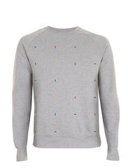 Blocks Colour Grey Sweatshirt - product images  of