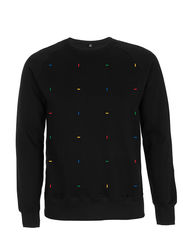 Blocks Black Sweatshirt - product images  of