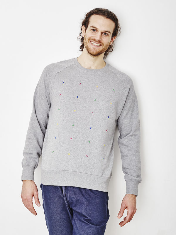 Algorithm Heather Gray Sweatshirt - product images  of
