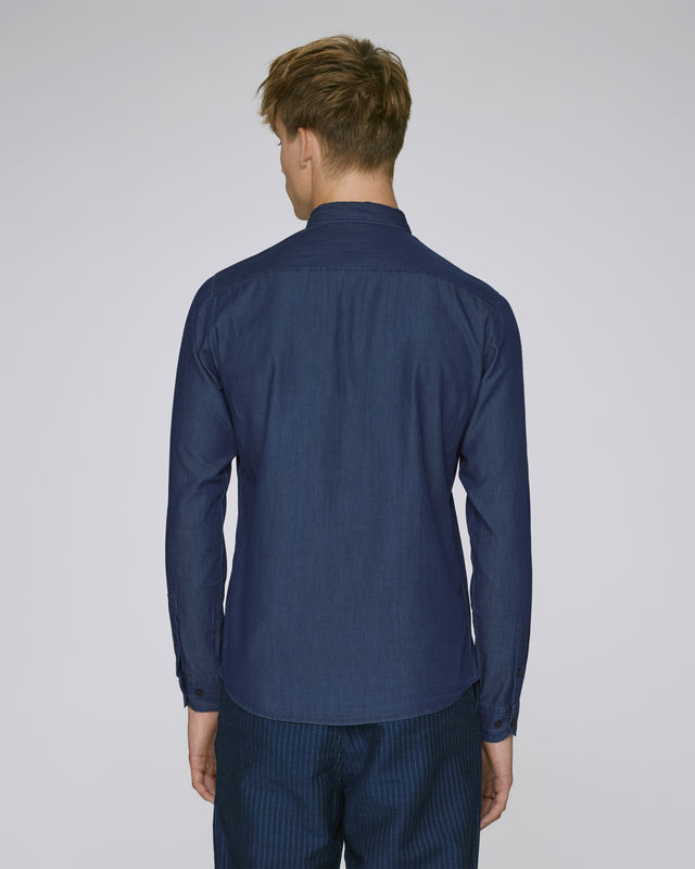 Dark Indigo Mens Shirt - product images  of