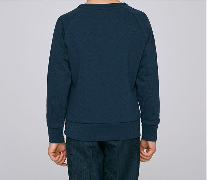 Kids Particles Sweatshirt Navy - product images  of