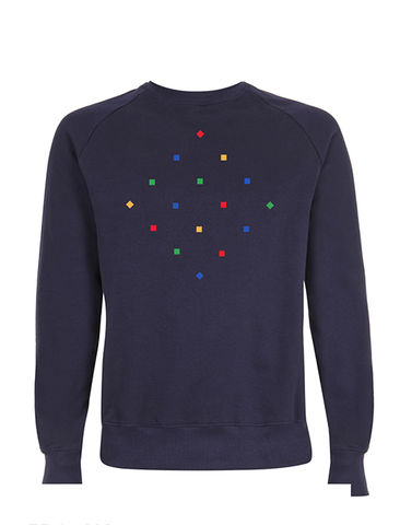 Particles,Navy,Sweatshirt,Organic Cotton Sweatshirt, Navy Organic Cotton Sweatshirt, Particles Navy Sweatshirt, men's organic cotton sweatshirt, unisnavy sweatshirt, men's navy sweatshirt, women's navy sweatshirt, men's navy organic cotton sweatshirt, women's navy organic cotton