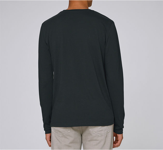 Blocks Long Sleeved Black T-Shirt - product images  of