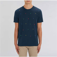 Cubed French Navy T Shirt - product images  of