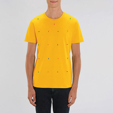 Spectra,Yellow,T,Shirt,Organic Cotton T Shirt, Orange Organic Cotton T Shirt, Yellow T Shirt, men's yellow t shirt, men's yellow organic cotton t shirt