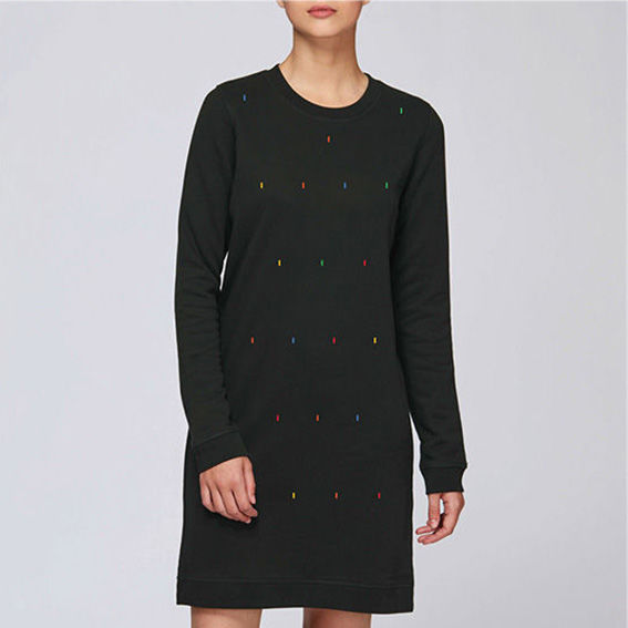 Reks Black Shirt Dress - product images  of