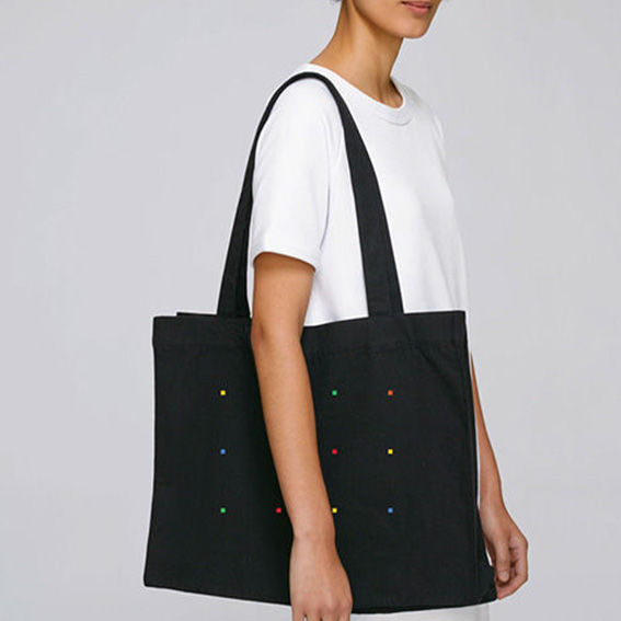 Rubiks Black Tote Bag - product images  of