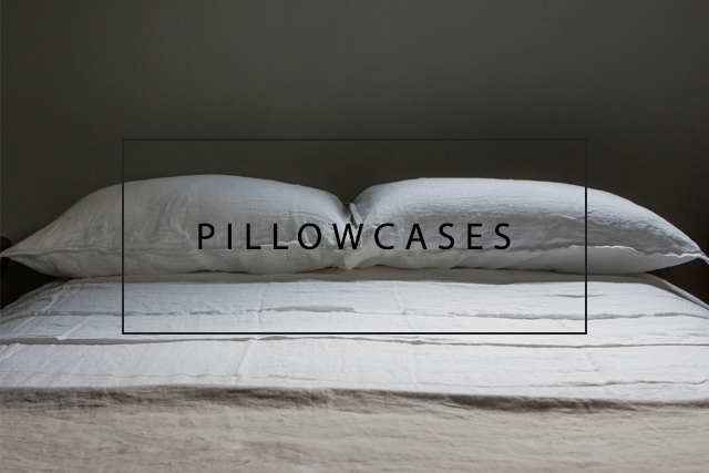 Toogood x OnceMilano linen pillowcases