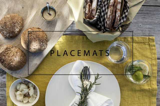 OnceMilano linen placemats