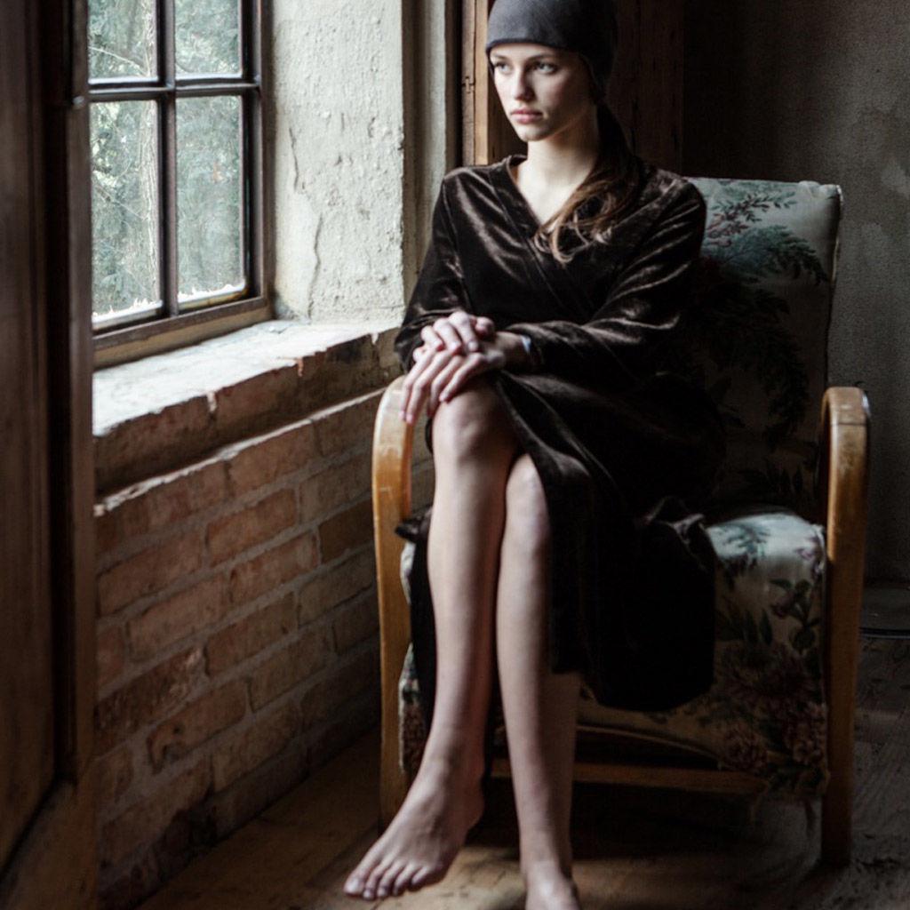 Velvet Dressing Gowns - OnceMilano