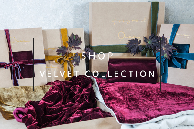 shop our luxurious velvet collection