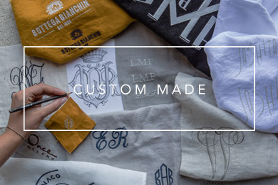 custom made linen products